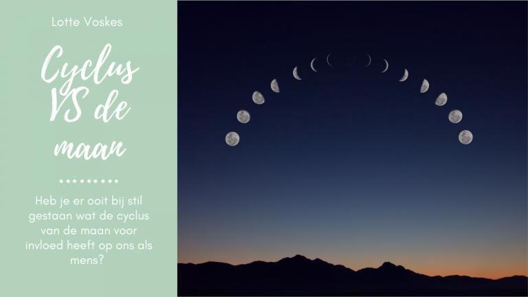 Menstrueren op de cyclus van de maan